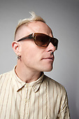 THE PRODIGY - Keith Flint - photosession - 23 Feb 2009.  Photo credit: Paul Harries/IconicPix