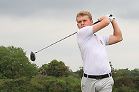 Hugh O'Hare (Fortwilliam) on the 2nd tee during Round 1 of The East of Ireland Amateur Open Championship in Co. Louth Golf Club, Baltray on Saturday 1st June 2019.<br /> <br /> Picture:  Thos Caffrey / www.golffile.ie<br /> <br /> All photos usage must carry mandatory copyright credit (© Golffile | Thos Caffrey)