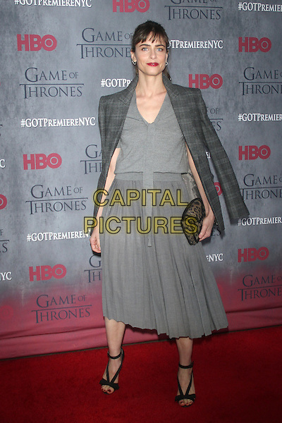 NEW YORK, NY - MARCH 18: Amanda Peet at the 'Game Of Thrones' Season 4 New York premiere at Avery Fisher Hall, Lincoln Center on March 18, 2014 in New York City.  <br /> CAP/MPI/RW<br /> &copy;RW/MPI/Capital Pictures