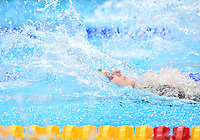 August 04, 2012..Missy Franklin competes in Women's 4x100m Medley Relay at the Aquatics Center on day eight of 2012 Olympic Games in London, United Kingdom.