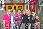 Sharon Heffernan (Harmony Beauty Rooms), Jodi Cahill (Catch of the Day), Brenda Woulfe (Woulfe's Bookshop), Oonagh Stokes (Listowel Travel), Josephine Windle (Keune The Hair Gallery), Christina McKenna (The Hair Gallery).