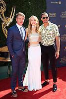 PASADENA - APR 30: Kyler Pettis, Olivia Keega, Lucas Adams at the 44th Daytime Emmy Awards at the Pasadena Civic Center on April 30, 2017 in Pasadena, California