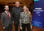BroadwayHD's Hal Berman, Bonnie Comley and Stewart Lane attends Industry Day during Broadwaycon at New York Hilton Midtown on January 11, 2019 in New York City.