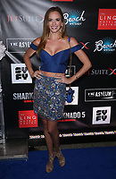 06 August 2017 - Las Vegas, NV - Jena Sims.  Sharknado 5 Global Swarming red carpet premiere at Linq Hotel and Casino. Photo Credit: MJT/AdMedia