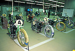 Auto Race, Japanese version of motorcycle speedway, combines gambling added into it and is held on an asphalt course, throughout Japan. (Photo Laurent Benchana/Mippon News)