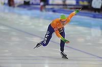 SCHAATSEN: HEERENVEEN: IJsstadion Thialf, 16-11-2012, Essent ISU World Cup, Season 2012-2013, Ladies 500 meter Division A, Thijsje Oenema (NED), ©foto Martin de Jong