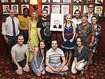 "The ""Beetlejuice"" Family with Sophia Anne Caruso during the Sophia Anne Caruso Sardi's Portrait Unveiling at Sardi's on July 10, 2019 in New York City."