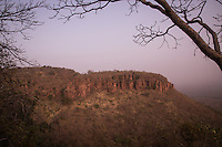 Fouta Djallon Massif at sunrise near Dindifelo, south eastern Senegal