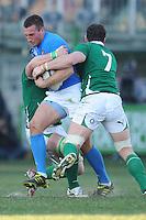 Sgarbi (Italia)<br /> Italia vs Irlanda<br /> Six Nations Rugby<br /> Stadio Flaminio, Roma, 05/02/2011<br /> Photo Antonietta Baldassarre Insidefoto