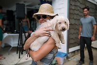 Whitney Wellner at Puppies & Parties Presents Malibu Beach Puppy Party (Photo by Tiffany Chien/Guest Of A Guest)