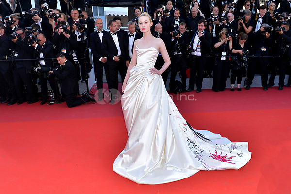 Elle Fanning at the Opening Movie &acute;Les Fantomes d Ismael`  screening during The 70th Annual Cannes Film Festival on May 17, 2017 in Cannes, France.<br /> CAP/LAF<br /> &copy;Lafitte/Capital Pictures /MediaPunch ***NORTH AND SOUTH AMERICAS, CANADA and MEXICO ONLY***