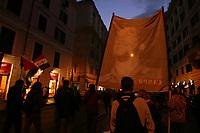 Roma,18 Novembre, 2006. Manifestazione per la pace in Palestina.<br /> Demonstration for the peace in Palestine.