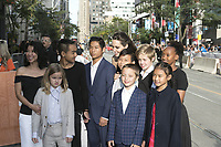 www.acepixs.com<br /> <br /> September 11 2017, Toronto<br /> <br />  Loung Ung (l-r), Vivienne Jolie-Pitt, Maddox Jolie-Pitt, Pax Jolie-Pitt, Kimhak Mun, Knox Jolie-Pitt, Shiloh Jolie-Pitt, Angelina Jolie, Zahara Jolie-Pitt and Sareum Srey Moch arriving at the premiere of 'First They Killed My Father' during the 42nd Toronto International Film Festival at the Princess of Wales Theatre on September 11 2017 in Toronto, Canada<br /> <br /> <br /> By Line: Famous/ACE Pictures<br /> <br /> <br /> ACE Pictures Inc<br /> Tel: 6467670430<br /> Email: info@acepixs.com<br /> www.acepixs.com