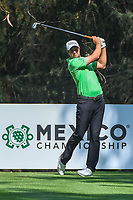 Peter Uihlein (USA) watches his tee shot on 16 during the preview of the World Golf Championships, Mexico, Club De Golf Chapultepec, Mexico City, Mexico. 2/28/2018.<br /> Picture: Golffile | Ken Murray<br /> <br /> <br /> All photo usage must carry mandatory copyright credit (&copy; Golffile | Ken Murray)