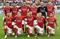 AS Roma team line up<br /> Roma 2-11-2019 Stadio Olimpico <br /> Football Serie A 2019/2020 <br /> AS Roma - SSC Napoli <br /> Foto Andrea Staccioli / Insidefoto