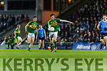David Moran Kerry in action against  Dublin in the National League in Austin Stack park on Saturday night.