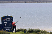 Darren Fichardt (RSA) tees off the 7th tee during Thursday's Round 1 of the Dubai Duty Free Irish Open 2019, held at Lahinch Golf Club, Lahinch, Ireland. 4th July 2019.<br /> Picture: Eoin Clarke | Golffile<br /> <br /> <br /> All photos usage must carry mandatory copyright credit (© Golffile | Eoin Clarke)