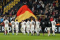 Deutsche Mannschaft bedankt sich bei den Fans - 09.10.2019: Deutschland vs. Argentinien, Signal Iduna Park, Freunschaftsspiel<br /> DISCLAIMER: DFB regulations prohibit any use of photographs as image sequences and/or quasi-video.