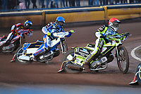 Heat 3  Josh Grajczonek of Poole Pirates during Poole Pirates vs Belle Vue Aces, Elite League Speedway at The Stadium on 11th April 2018