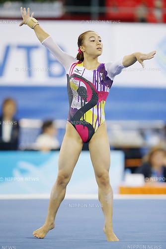 Natsumi Sasada (JPN), OCTOBER 6, 2014 - Artistic Gymnastics : 2014 World Artistic Gymnastics Championships <br /> Women's Qualification at the Guangxi Gymnasium in Nanning, China. (Photo by Yusuke Nakanishi/AFLO SPORT)
