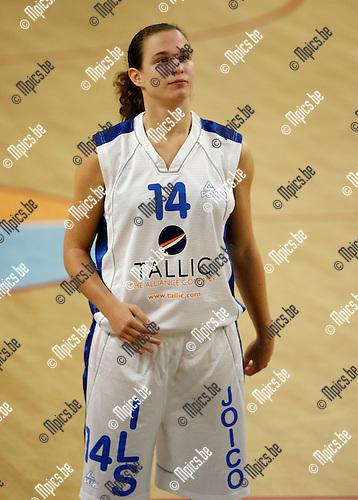 2008-10-27 / Basketbal / Dames Boom / Ilke Bliki..Foto: Maarten Straetemans (SMB)