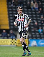 Jonathan Stead of Notts County during the Sky Bet League 2 match between Notts County and Wycombe Wanderers at Meadow Lane, Nottingham, England on 28 March 2016. Photo by Andy Rowland.