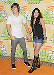 Zac Efron & Vanessa Hudgens at The 2009 Nickelodeon's Kids Choice Awards held at Pauley Pavilion in West Hollywood, California on March 28,2009                                                                     Copyright 2009 Debbie VanStory/RockinExposures