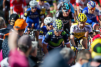 2016 La Fleche Wallonne<br /> Huy, Belgium<br /> 20 April 2016<br /> Carlos Betancur, Movistar
