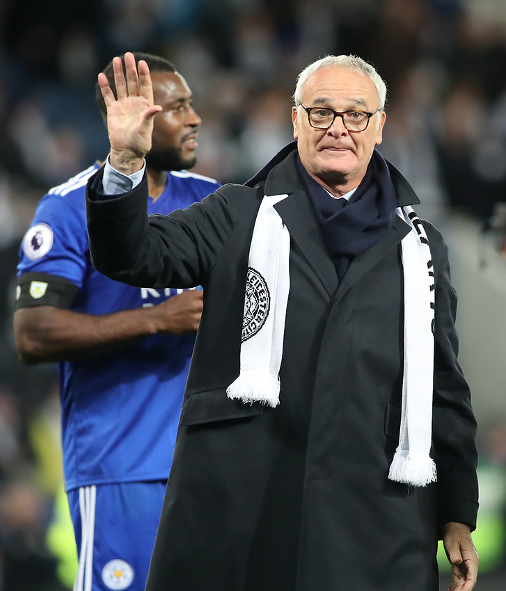 Leicester City's ex Manager Claudio Raneri<br /> <br /> Photographer Rachel Holborn/CameraSport<br /> <br /> The Premier League - Saturday 10th November 2018 - Leicester City v Burnley - King Power Stadium - Leicester<br /> <br /> World Copyright © 2018 CameraSport. All rights reserved. 43 Linden Ave. Countesthorpe. Leicester. England. LE8 5PG - Tel: +44 (0) 116 277 4147 - admin@camerasport.com - www.camerasport.com