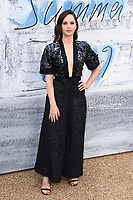 LONDON, UK. June 25, 2019: Felicity Jones arriving for the Serpentine Gallery Summer Party 2019 at Kensington Gardens, London.<br /> Picture: Steve Vas/Featureflash