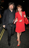 Sir Trevor Nunn and Kathy Lette at the &quot;Consent&quot; press night, The Harold Pinter Theatre, Panton Street, London, England, UK, on Tuesday 29 May 2018.<br /> CAP/CAN<br /> &copy;CAN/Capital Pictures