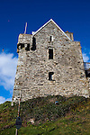 The O'Driscoll castle, Dún na Séad or Fort of the Jewels - Castle of the Pearls - in the the fishing village of Baltimore, West Cork, Ireland