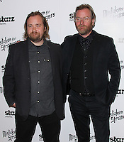 """LOS ANGELES, CA, USA - MARCH 25: Tom Berninger, Matt Berninger at the Los Angeles Screening Of """"Mistaken For Strangers"""" held at The Shrine Auditorium on March 25, 2014 in Los Angeles, California, United States. (Photo by Xavier Collin/Celebrity Monitor)"""