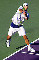 Fernando Verdasco (ESP) in the quarter finals of the men's singles. Tomas Berdych beat Fernando Verdasco 4-6 7-6 6-4..International Tennis - 2010 ATP World Tour - Sony Ericsson Open - Crandon Park Tennis Center - Key Biscayne - Miami - Florida - USA - Thu 1 Apr 2010..© Frey - Amn Images, Level 1, Barry House, 20-22 Worple Road, London, SW19 4DH, UK .Tel - +44 20 8947 0100.Fax -+44 20 8947 0117