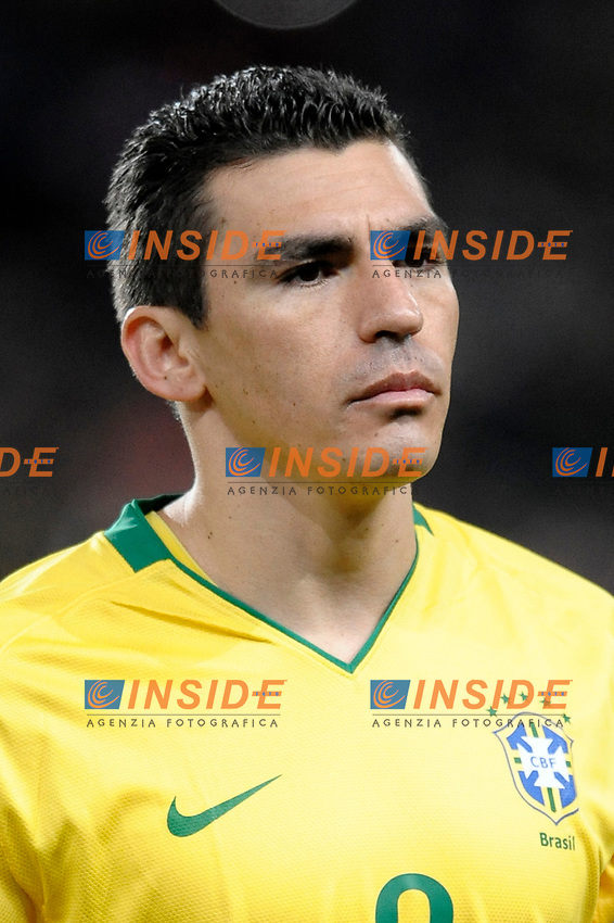 Lucio (Brazil)<br /> London/Londra 10/02/2009 Emirates Stadium<br /> Friendly Match<br /> Brazil Vs Italy 2-0 Brasile Italia 2-0<br /> Foto Andrea Staccioli Insidefoto