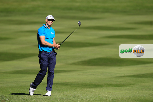 Alex NOREN (SWE) during round 1 of the 2015 BMW PGA Championship over the West Course at Wentworth, Virgina Water, London. 21/05/2015<br /> Picture Fran Caffrey, www.golffile.ie: