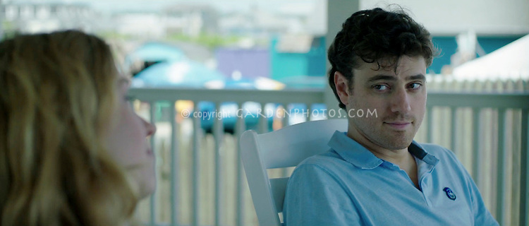 Lucy Walters and Donovan Patton in a scene from Lies I Told My Little Sister feature film