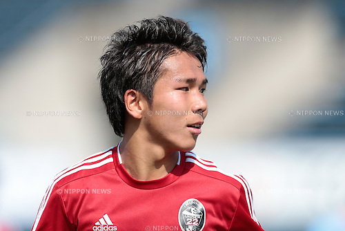 Shota Kaneko (U-22 J.League), <br /> APRIL 29, 2015 - Football /Soccer : <br /> 2015 J3 League match <br /> between Y.S.C.C.Yokohama 0-0 U-22 J.League selection <br /> at NHK Spring Mitsuzawa Football Stadium, Kanagawa, Japan. <br /> (Photo by AFLO SPORT)