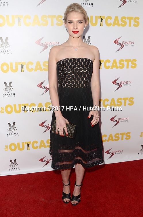"""LOS ANGELES - APR 13:  Claudia Lee at the """"The Outcasts"""" Premiere at the Landmark Regent Theater on April 13, 2017 in Westwood, CA"""