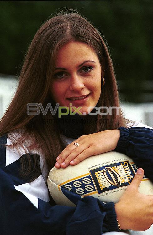 Pix: Simon Wilkinson..Becky Stevens.....19/8/99.COPYWRIGHT PICTURE>>SIMON WILKINSON>>01943 436649...Becky Stevens Englands Rugby League Captain pictured in Leeds.