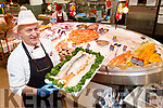 Dan O'Regan, pictured at the Fish counter at Garveys SuperValu, Tralee, on Tuesday last.