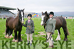 "Enjoying  the Kingdom County Fair in Ballybeggan on Sunday were Brid Reidy with ""Bob"" and Claire Bunn with ""Blackjack"" from Killarney Riding Club"