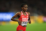 Ruth JEBET (BRN) in the womens 3000m steeplechase final. IAAF world athletics championships. London Olympic stadium. Queen Elizabeth Olympic park. Stratford. London. UK. 11/08/2017. ~ MANDATORY CREDIT Garry Bowden/SIPPA - NO UNAUTHORISED USE - +44 7837 394578