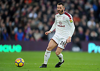 Burnley's Phillip Bardsley<br /> <br /> Photographer Ashley Crowden/CameraSport<br /> <br /> The Premier League - Crystal Palace v Burnley - Saturday 13th January 2018 - Selhurst Park - London<br /> <br /> World Copyright &copy; 2018 CameraSport. All rights reserved. 43 Linden Ave. Countesthorpe. Leicester. England. LE8 5PG - Tel: +44 (0) 116 277 4147 - admin@camerasport.com - www.camerasport.com