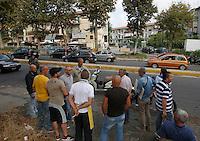 Davide Bifolco di 17 anni  e stato ucciso da un carabiniere al  rione traiano<br /> Napoli 5 settembre 2014