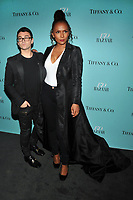 NEW YORK, NY - APRIL 19: Christian Siriano and Janet Mock at the Harper's Bazaar: 150th Anniversary Party at The Rainbow Room on April 19, 2017 in New York City.<br /> CAP/MPI/PAL<br /> &copy;PAL/MPI/Capital Pictures