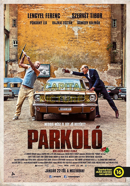 POSTER ART<br /> in Parkolo (2014)<br /> *Filmstill - Editorial Use Only*<br /> CAP/NFS<br /> Image supplied by Capital Pictures