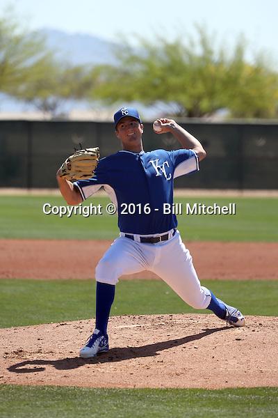 Foster Griffin - Kansas City Royals 2016 spring training (Bill Mitchell)