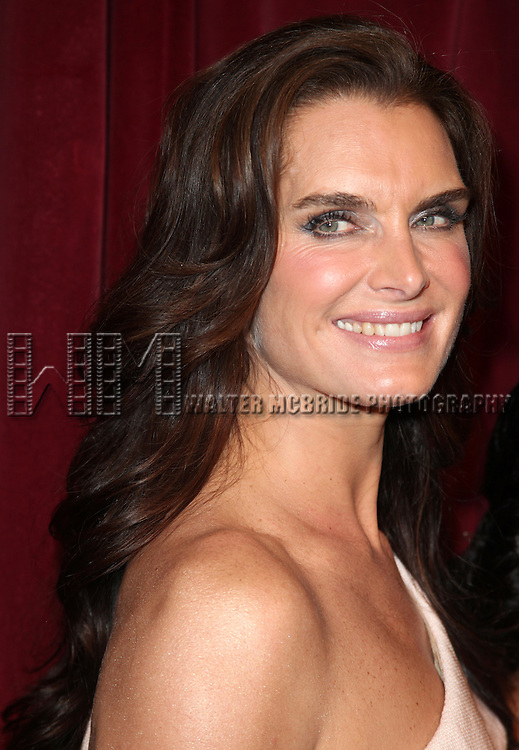 Brooke Shields.attending the Inside Broadway  2011 Broadway Beacon Awards at The Players Club in New York City.