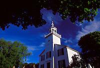A CHURCH ON MACKINAC ISLAND, MICHIGAN.